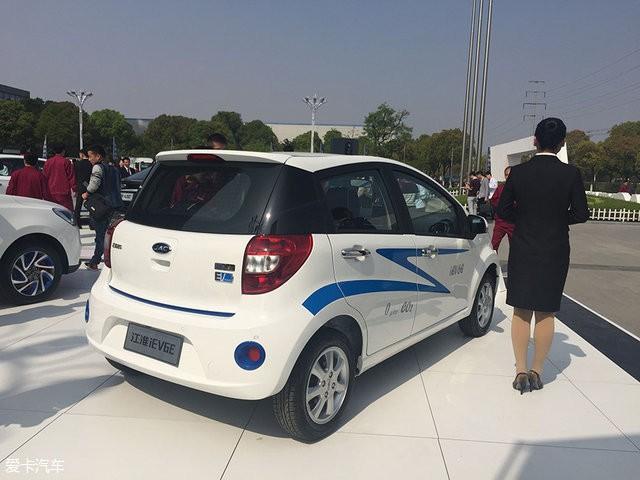 江淮iEV6E电动车发布 将于北京车展亮相高清图片