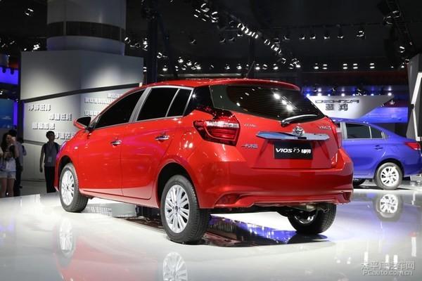 威驰FS将于3月21日上市 一汽丰田版致炫高清图片